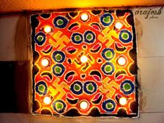 Diwali Rangoli (Vrajeshjani) Tags: mom diwali rangoli deepavali dhanteras