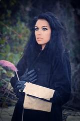 Poetry (Artem_Prikhodko) Tags: portrait woman model nikon sb600 setup iluminacion cls 135mm russianlens strobist jupiter37 russianoptics d700 manualfocusing