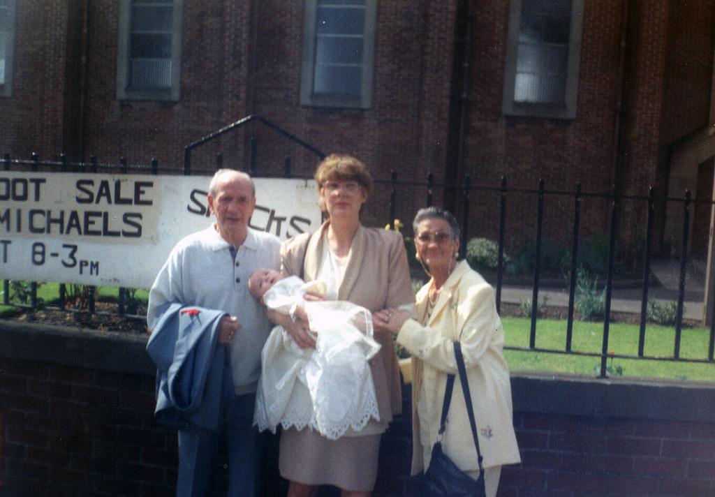 Baby Declyns Christening, 1990s