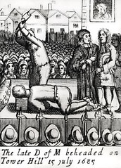 The Botched Execution of the Duke of Monmouth (L. J. Hutchinson) Tags: death knife axe towerhill beheading execution executioner 15thjuly 1685 jamesscott bungled dukeofbuccleuch jackketch bungling monmouthrebellion dukeofmonmouth severalblows