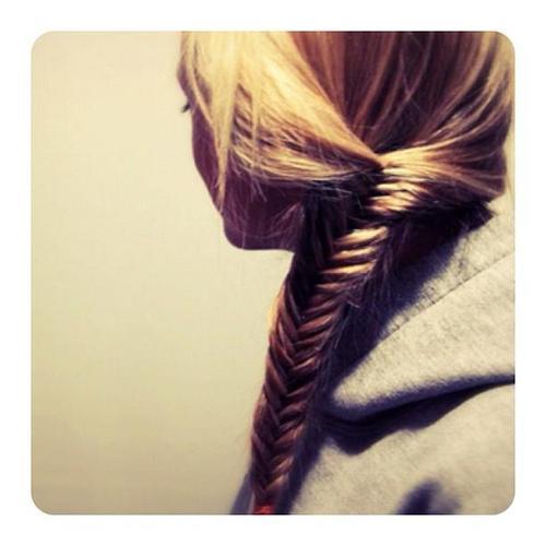 braid hair - herringbone braids