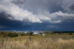 Somerset under cloud (noompty) Tags: storm clouds landscape pentax australia queensland k5 primelens somersetdam smcpda15mmf40edal