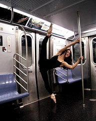 Hang On (maggieyhorowitz) Tags: ballet black beautiful subway dance amazing intense ballerina perfect lily legs dancer stunning beast pointe extension perfection leotard subwaycar pointeshoes balletshoes subwaycars dancingcreatures maggiehorowitz followontumblrdancingcreatures