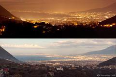 Napoli night&day (Alessandro Guidi 1985) Tags: panorama night day gulf panoramic napoli alessandro guidi