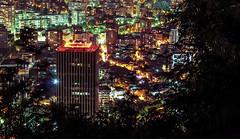 Torre Santa Mara (Rodrigo Almendras V.) Tags: chile santiago night canon 50mm lights luces noche nocturna t3i providencia 50mmf18 cerrosancristobal canont3i
