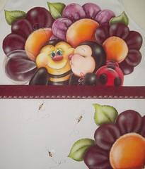Avental de abelha e joaninha (Acrilex) Tags: