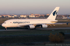 Malaysia Airlines Airbus A380-841 cn 089 9M-MND (Clément Alloing - CAphotography) Tags: test canon airplane airport aircraft flight airbus toulouse aeroport aeropuerto blagnac spotting tls 100400 lfbo