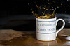Coffee Splash (Ruthie H) Tags: coffee pentax flash splash liquid highspeed k5 coffeesplash