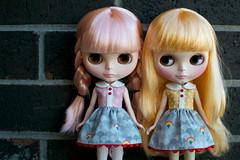 Wearing Rainbow Dresses
