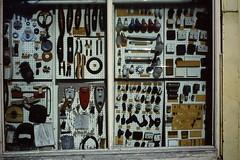 LONDON 1979 March pic20 (streamer020nl) Tags: london electric shop electro shopwindow lamps 1979