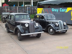 Vauxhall 14J and Standard Flying 12 (duncan millman) Tags: summer2012