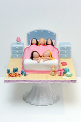 Sleepover Party Cake (MagpieJo's) Tags: party cake slumber sleepover