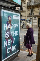 Happy is the new chic (robert ragan) Tags: street ladies lady happy chic