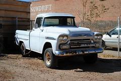 1959 Chevrolet Apache (Cragin Spring) Tags: arizona chevrolet truck apache pickup az pickuptruck chevy winslow winslowarizona chevroletapache winslowaz
