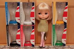 238/365 London 2012 glasses.