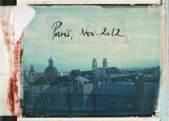 9 am (emilie79*) Tags: paris rooftops 75006 polaroid180 iduvfilm