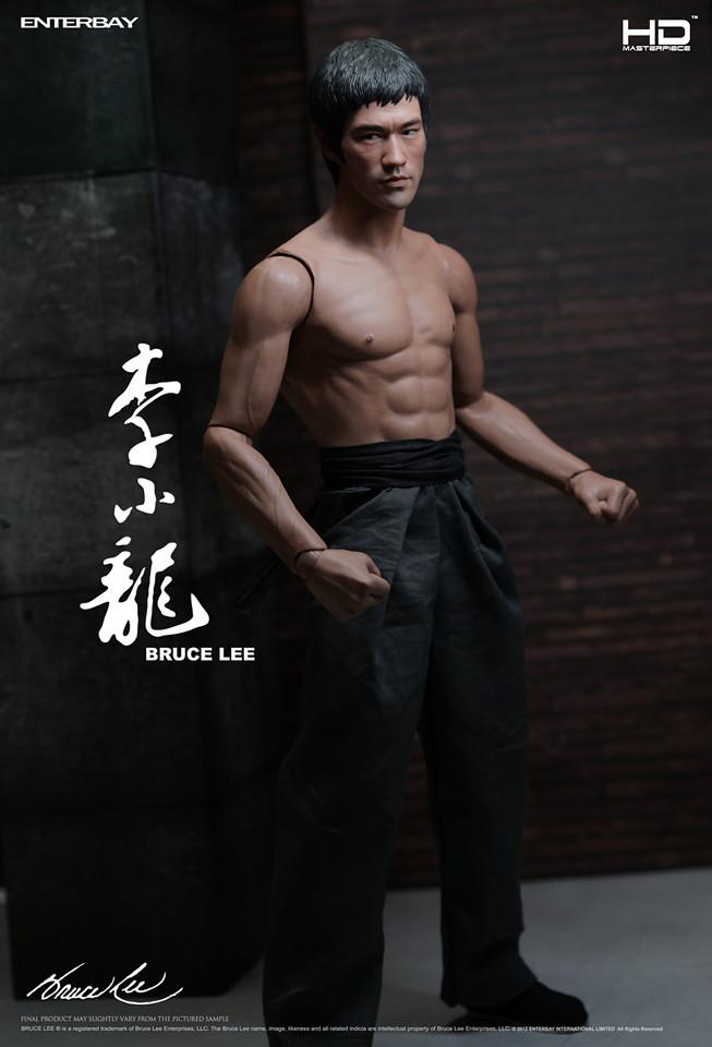 ENTERBAY 尊敬呈獻 HD Masterpiece: 李小龍 HD-1008
