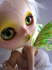 Custom Snow Fairy Blythe