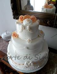 wedding cake (letortedisimi) Tags: wedding cake design fondant pdz