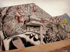 arte na rua   1 (L_Luka) Tags: portugal cores arte setbal rua paredes pintura muros