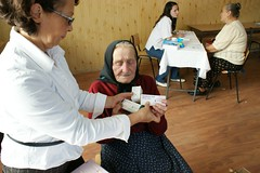 Romania, 2009 (Direct_Relief) Tags: dr september patient romania medicine 2009 diabetes directrelief elderlywoman osteoporosis gliclazide alendronicacid calcitrol httpwwwdirectrelieforg photobydirectrelief httpdirectrelieforg