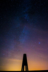 Daymark Rocket (the milster) Tags: uk tower night stars nikon ngc devon 1855mm milkyway kingswear daymark daymarktower d3100