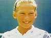 Anna Kournikova before she became famous, aged 8 years old Pic Credit WENN