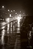 Wet Night in Cookstown (Rock Steady Images) Tags: christmas camera original bw holiday ontario canada night canon eos evening events places parade equipment celebrations cameras 7d processing handheld 200views 50views lenses christmasparade cookstown alliston 25views bypaulchambers canonef70200mmf28isiiusm lightroom4 photoshopcs6 rocksteadyimages