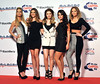Sarah Harding, Nadine Coyle, Nicola Roberts, Cheryl Cole and Kimberly Walsh of Girls Aloud Capital FM Jingle Bell Ball held at the O2 Arena - London