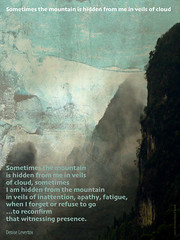 VEILED MOUNTAIN (PHILIP CHIRCOP) Tags: mountain poetry poem veil witness deniselevertov
