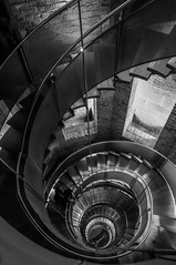 The Lighthouse Revisited [Explored] (Caledonia84) Tags: city lighthouse stairs square spiral glasgow royal lane mitchell merchant exchange glasgowskyline sonynex5r