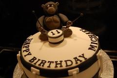 Gorilla Drummer cake (Victorious_Sponge) Tags: birthday cake gorilla drum drummer