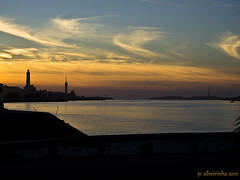 Barra Sunset II (Paulo Silveirinha) Tags: sunset pordosol sea portugal water gua mar atlantic atlntico