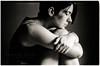 Gosia (byfer / Fernando Ocaña) Tags: portrait bw woman film 35mm nikon kodak retrato pelicula nikkormat selfdeveloped 400tmx