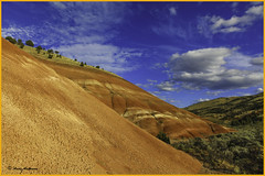 Painted Hills Vista #4 - John Day Fossil Beds Naitonal Monument - Fossil, OR (wallawallaswede) Tags: paintedhills condon smithrock cascadelakes