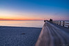 Abendstimmung (beginner17) Tags: sonnenuntergang prerow dars zingst seebrücke pier wasser himmel licht sonne abendrot stimmung mood träumen ostsee fuji fujicolors fujixt1 xt1