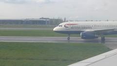 British Airways G-EUOC at Heathrow Airport (VHS Channel) Tags: britishairways heathrow video 2016 april flight travel airline airport vhschannel to416 enroutetoronto416 geuoc