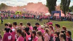 Race for life 2016 Heaton Park (seegarysphotos) Tags: raceforlife raceforlifeheatonparkmanchester2016seegarysphotosgary lewis charity fun run running pink group crowd happy family