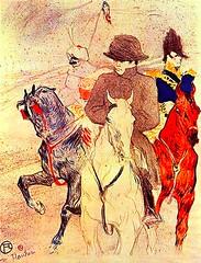 Napolon Henri de Toulouse-Lautrec (rerednaw_at) Tags: reiter pferde mnner napolon gemlde henridetoulouse