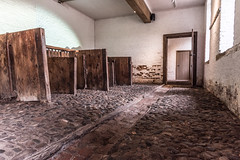 Dunham Massey Stables (joanjbberry) Tags: durhammasseycheshire stables cobbles indoors