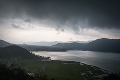 (the.redhead.and.the.wolf) Tags: rain fog summer nepal pokhara phewalake lake water asia