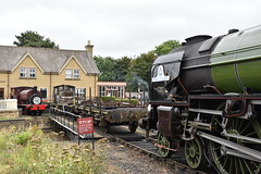 Around Wansford Turntable (simmonsphotography) Tags: steam locomotive engine train heritage railway wansford uksteam volunteers shed station yard tank 60163 tornado peppercorn a1 derekcrouch