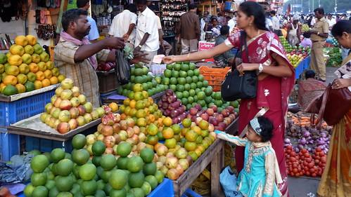 India - Tamil Nadu - Chennai - Market - 62