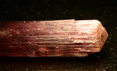 63414b Tourmaline variety Elbaite (Stan Celestian) Tags: nhmla tourmaline elbaite