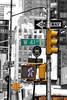 Manhattan Street (tagann) Tags: selectivecoloring nyc manhattan newyork street rue colorationselective usa
