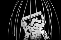 #Birdcage (David C W Wang) Tags: act toy   danboard   birdcage  blackwhite  explore