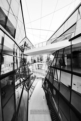 Diagonals (JamCanSing) Tags: blackandtwhite lasalle diagonals bnw interior architecture monochrome infrared irphotograph sony sonyalphaprofessionals