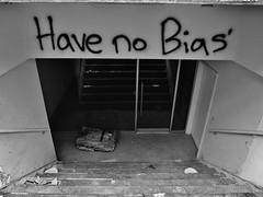 HaveNoBias (Street Witness) Tags: cityscape streetscape graffiti scrawl les nyc hester street