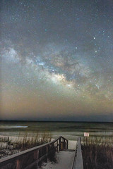 Make a Wish (NEXtographer) Tags: night danhaefnerphotography color galaxy myedit starscape stars milkyway sky sand canon notmyshot f20 beach outdoors