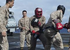 160821-N-YR245-016 (U.S. Pacific Fleet) Tags: boxarg13meu16 ussboxerlhd4 amphibiousreadinessgroup 13thmarineexpeditionaryunit 13thmeu usmarines usnavy cpr1 westernpacificocean